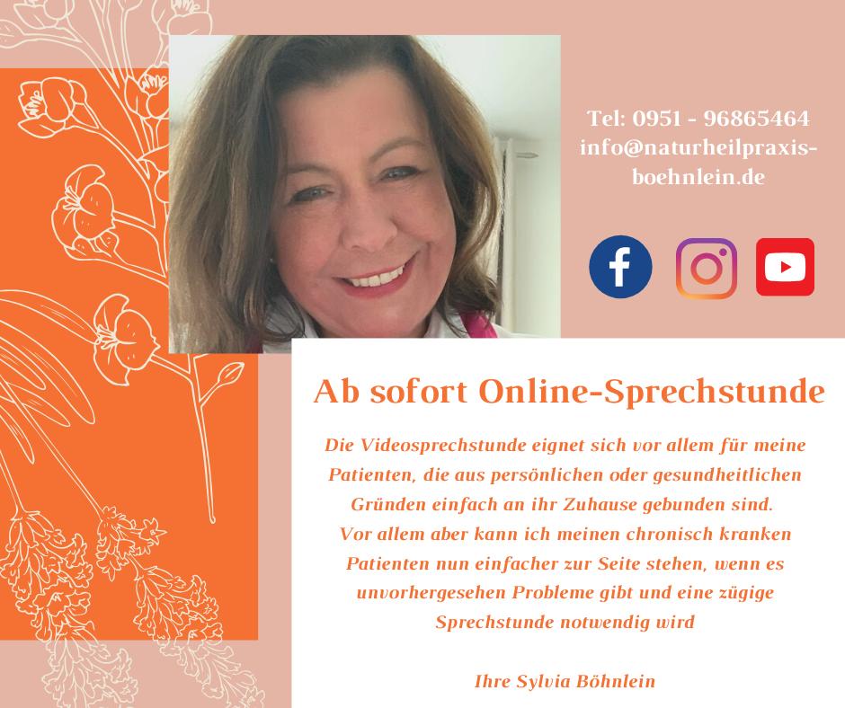 Sylvia Böhnlein Online-Sprechstunde